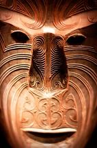 Maori Mask - Heart of NZ