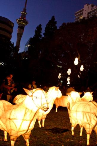 Chinese New Year 2013 - Lantern Festival. Albert Park, Auckland NZ