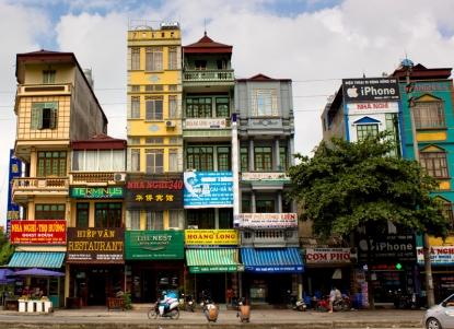 Lao Cai street scene
