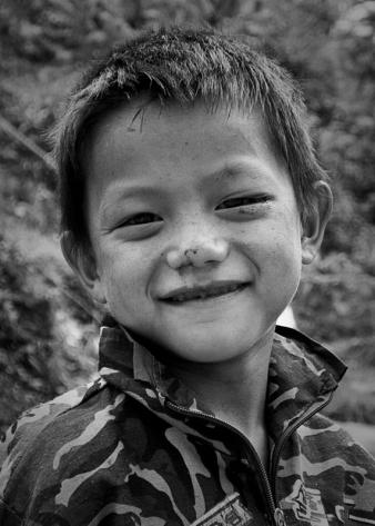 Local boy, Cat Cat Village, Sa Pa, Vietnam