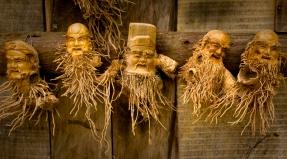 Bamboo carvings, Cat Cat Village, Sa Pa, Vietnam