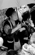 Local woman, Sa Pa, Vietnam