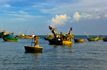 Fishing boats, Da Nang