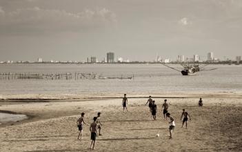 Beach scene, Da Nang