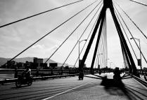 Crossing Cầu Sông Hàn Bridge