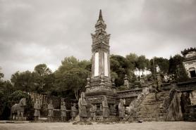 Imperial Tomb of Khai Dinh, Hue, Vietnam