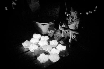 Lantern seller, Hội An