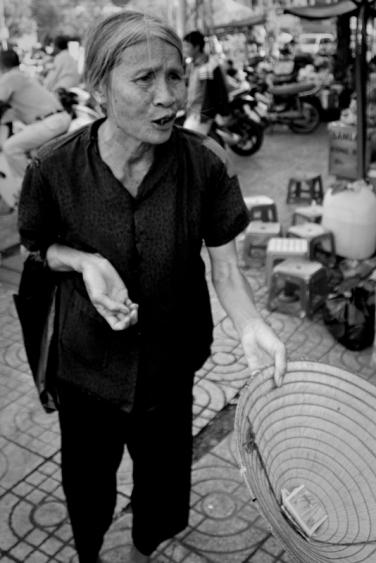 Street begger, Ho Chi Minh City