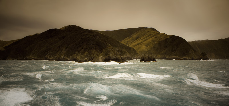 Cook Strait, New Zealand